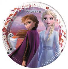 reine-des-neiges-assiettes-anniversaire-frozen2 | jourdefete.com