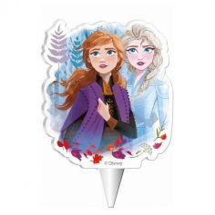 Bougie d'anniversaire 2D - La Reine des Neiges 2 - 7,5 cm