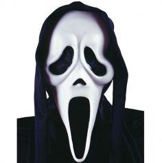 Masque Scream avec Capuche - Adulte