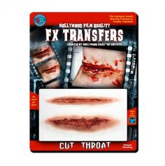 "Transfert cicatrice 3D ""Gorge tranchée"""