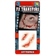 """Transfert cicatrice 3D """"Points de suture"""""""