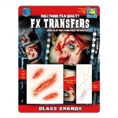 "Transfert cicatrice 3D ""Tressons de Verre"""