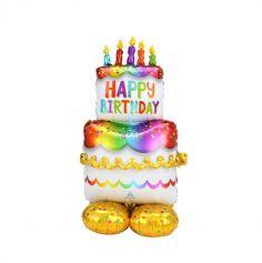 ballon airloonz gateau anniversaire 134 cm | jourdefete.com