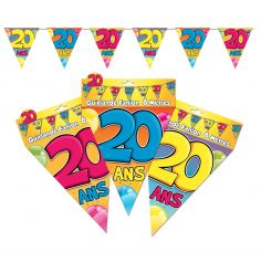 "Guirlande Fanions ""20"""