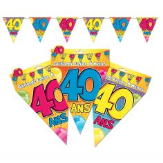 "Guirlande Fanions ""40"""