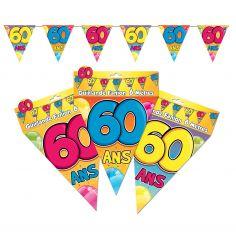 "Guirlande Fanions ""60"""