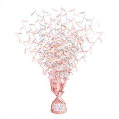 poids-rose-gold-glitz-ballons-personnalisable | jourdefete.com