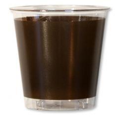 Gobelets en plastique 30cl Chocolat