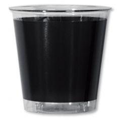 Gobelets en plastique 30cl Noir
