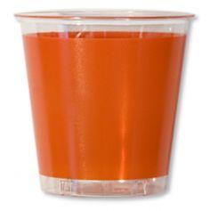 Gobelets en plastique 30cl Orange