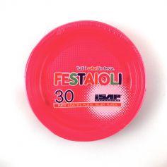 Grandes assiettes x30 - Fuchsia