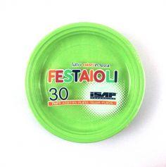 Grandes assiettes x30 - Vert pastel