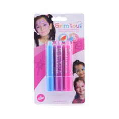 Pack de 3 sticks de maquillage Princesse Grim'Tout