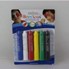Pack 6 sticks de maquillage Grim'tout