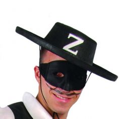 Chapeau Justicier Masqué Z