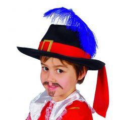 Chapeau mousquetaire enfant