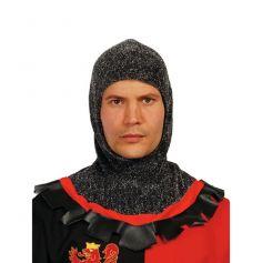Bonnet en Cotte de Maille Médiéval - Adulte