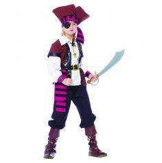 Déguisement  Pirate Rose Garçon