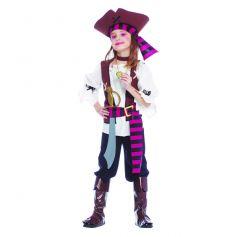 Déguisement Fille Pirate des Mers du Sud