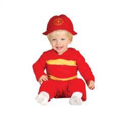 Déguisement Enfant Pompier - Taille au choix