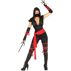 Déguisement de Ninja Femme - Taille au choix