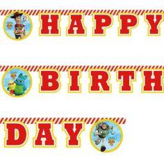 Guirlande Joyeux Anniversaire - Toy Story 4