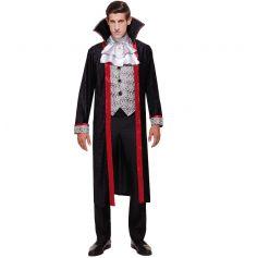 Déguisement Comte Dracula Homme - Taille au Choix