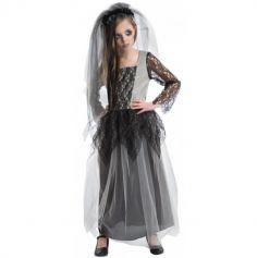 Déguisement Fille - Mariée Zombie - Taille au Choix