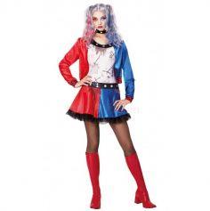 Déguisement Havey Quinne Zombie Femme - Taille au Choix
