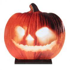 halloween-citrouille-sur-socle | jourdefete.com