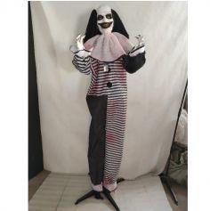 Clown Animé et Sonore sur pieds - 170 cm