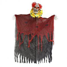 Rideau de Porte de Clown Lumineux et Sonore - 240 cm