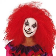 perruque-rouge-clown-halloween-carnaval|jourdefete.com