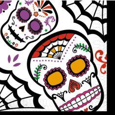 serviettes-papier-halloween-muerte | jourdefete.com