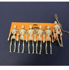 Guirlande de Squelettes - 180 cm