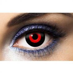 lentilles_deguisement_noir_rouge_demon | jourdefete.com