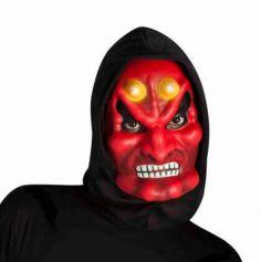 masque-diable-cagoule-halloween-rouge-peur|jourdefete.com