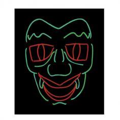 masque-neon-vampire-halloween | jourdefete.com