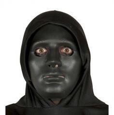Masque noir en plastique pour Adulte
