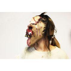 Masque de Zombie au Regard Exorbité en latex - Intégral - Adulte