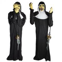 nonne-animee-fumee-halloween | jourdefete.com