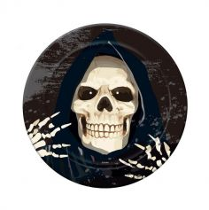 assiettes-faucheur-halloween | jourdefete.com