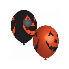 ballons-latex-citrouille-halloween | jourdefete.com