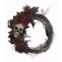 couronne-halloween-lumineuse | jourdefete.com