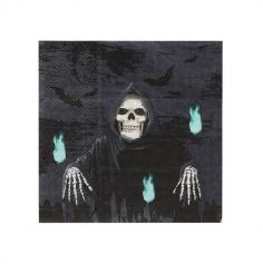 serviettes-halloween-faucheur | jourdefete.com