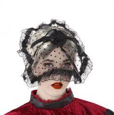serre-tete-voile-noir-halloween | jourdefete.com