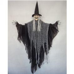 sorciere-suspension-decoration-halloween | jourdefete.com