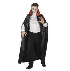 Cape de Vampire avec Jabot pour Homme - Taille Unique