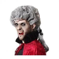 Perruque grise de Vampire pour Homme