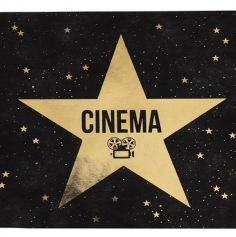 chemin-table-cinema-hollywood-star-decoration | jourdefete.com